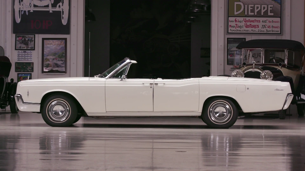 Jay Leno's Garage: 1966 Lincoln Continental