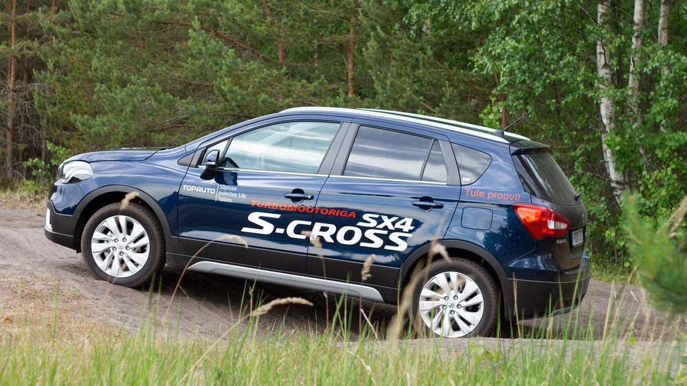 Motors24 proovisõit - Suzuki SX4 S-Cross