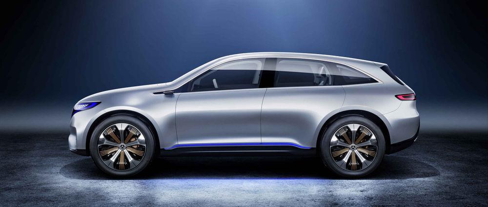 Mercedese elektrilist crossoverit näeb seeriatootmiseks küpsena