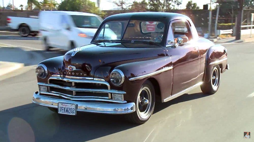 Jay Leno's Garage: 1950 Plymouth Business Coupe