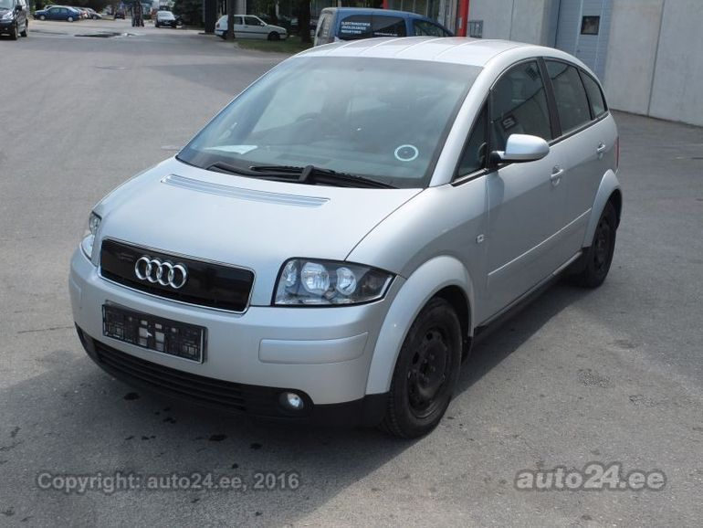 Audi A2 14 16v 55 Kw Photo 1 Vehicle Spare Parts Auto24ee